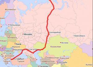 Европа-Азия линия