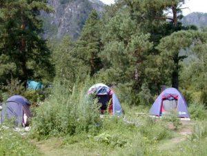 Палаточный отдых Катунь