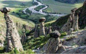 Каменные грибы Ак-Курум