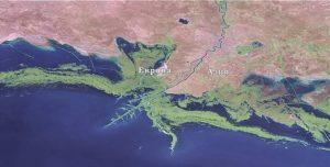 Река Урал Европа Азия