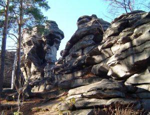 Скалы Среднего Урала