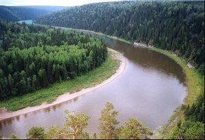 Урал река берега