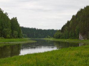 Берега реки Чусовой