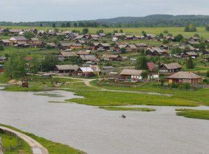 Деревни реки Чусовой