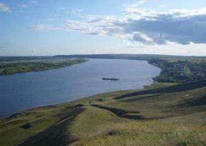Река Кама в Удмуртии