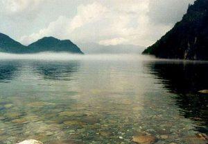 Вода в Телецком озере