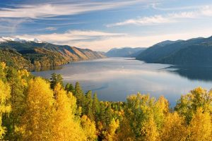 Золотое озеро Алтай