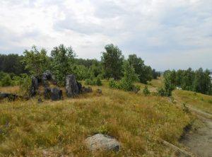 Большие Касли камни останцы