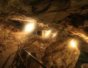 Кунгурская пещера гроты