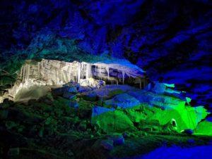 Кунгурская пещера воздух