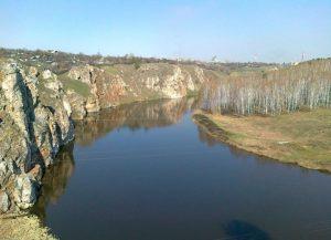 Река Исеть берега