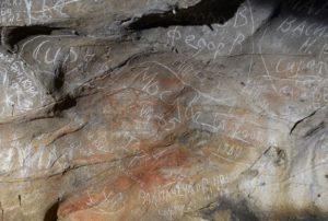 Вандалы Капова пещера