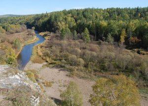 Река Серга пейзажи