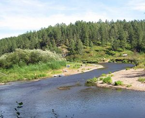 Река Серга сплав