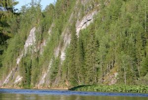 Река Сосьва берега