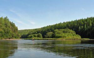 Река Сосьва отдых