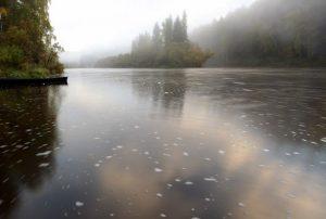 Река Сосьва сплав