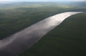 Нижняя Тунгунска река