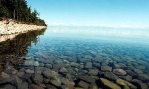 Прозрачные воды Байкала