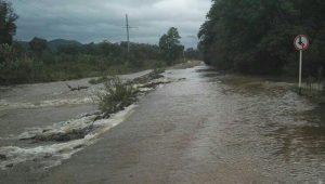 Река Партизанская Сучан наводнение