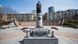 Муравьев Амурский памятник Владивосток