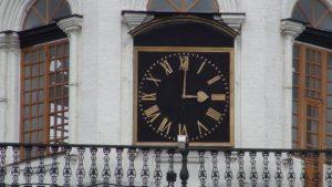 Невьянская башня часы