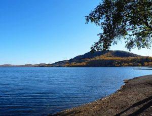 Озеро Банное берега