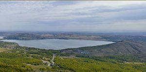Озеро Банное вид