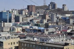 Владивосток на сопках