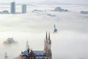 Владивосток погода туман