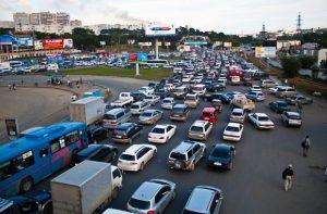 Владивосток пробки