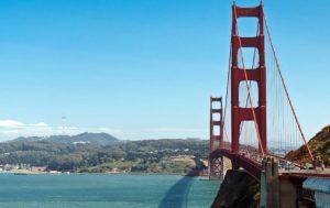 Залив Сан Франциско с моря