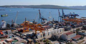 Владивосток торговый порт