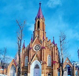 Филармония с органным залом в Иркутске