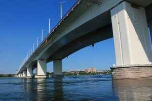 Иркутск мост через Ангару