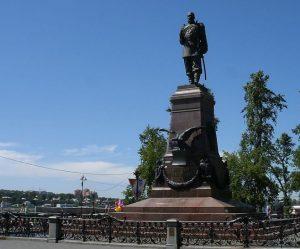 Иркутск памятник Александру III