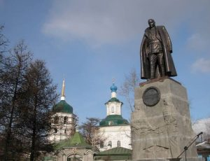 Иркутск памятник Колчаку