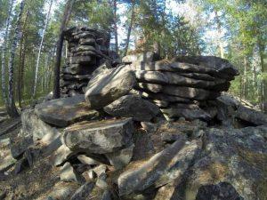 Скалы Северские Писаницы