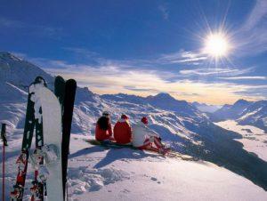 Алтайские горы вид сверху