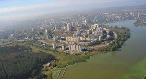 Город Первоуральск вид сверху