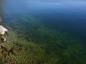 Дно Озера Тургояк