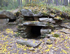 Пещеры острова Веры