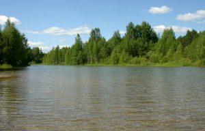 Река Тагил на Среднем Урале