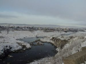 Река Тагил зимой