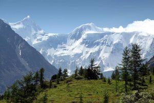 Гора Белуха Катунский заповедник