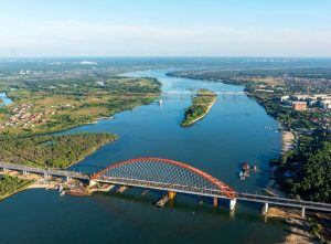 Новосибирск на берегах Оби