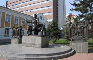 Новосибирск памятник Глинке