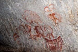 Наскальные рисунки Капова пещера