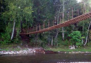 веревочный мост оленьи ручьи