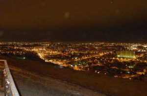Ночной Красноярск